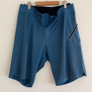 "lululemon Mens Board Swim Shorts Lined 11"" Blue 36"